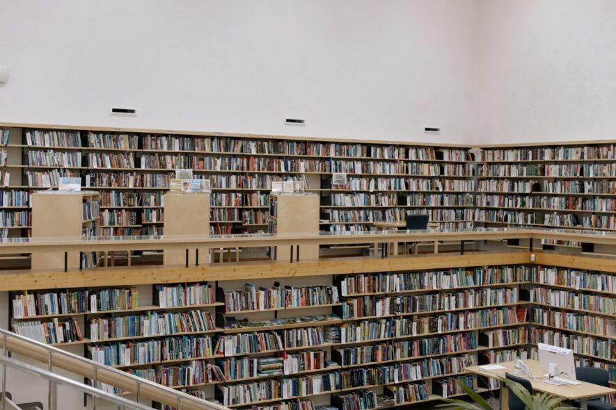 本を探す・読むことに特化した空間